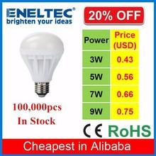 cheap price B22 E27 E14 plastic 5W led bulb