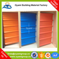 Heat resistant fast Installation tile roofing for factory