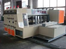 high speed two color printer slotter die cutter machine GYK 1370X2000