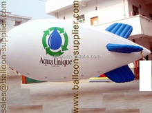 Advertising balloon 4 meter to 10 meter PVC helium quality inflatable blimp for promotion