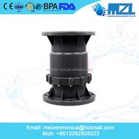 pvc sanitary pipes fittings/pvc pipe fitting/pvc ball check valve in high quality