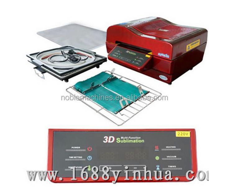 3d Sublimation Vacuum Press 3d Sublimation Heat Transfer