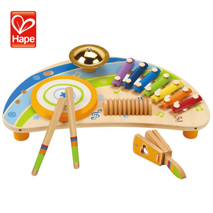 Hape thương hiệu Quà Giáng Sinh Chất Lượng Cao thân thiện với môi xylophone gỗ bé musical đồ chơi