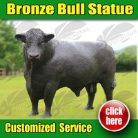 Popular Design Bull Statue for Sale with 15 years Foundry