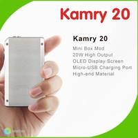 Kamry Newly Launched Mini Box Vapor Mod Ecig 2000mah Capacity Kamry 20w Mini Box Mod/Cloupor Mini 30W