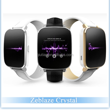 Zeblaze Crystal Smart Watch MTK2502 BT4.0 128M/64M 1.54 Inch Waterproof IP65 Health Tracking& Smart Reminding for iOS Android