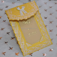 High quality promotional printed pakistan wedding cards