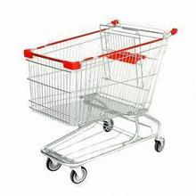 foldable cart Japan style trolly easy-moving trolly cheap cart supermarket cart