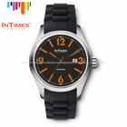 2014 new aço relógios homens esporte intimes it-1068 laranja 50m de água- a prova de caixa de embalagem agradável