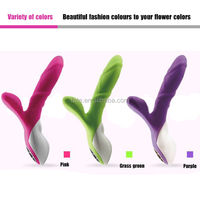 3 Color Double Vibration Forking Massager for Female Enjoy Male Love Pleasure