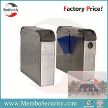 Intelligent flap turnstile /retractable flap barrier turnstile / Biometric access control system