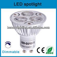 GU10 LED 2700K dimmable spotlight replace halogen 50W Bulb
