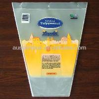 100% Biodegradable flower sleeve plastic pot sleeve plastic protective sleeve