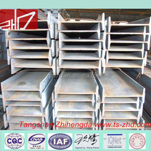 Competitive hot rolled standard steel I beam