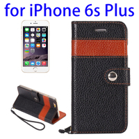 Deluxe Wallet Mobile Phone Cover Case for iPhone 6S+
