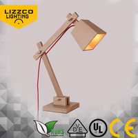 High quality new style modern wood desk lamp