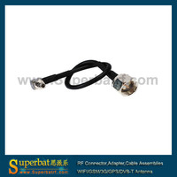 RF custom cable Assembly CRC9 connector to F Male for 3g USB modem