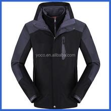 Performance sportswear ski jackets black for men