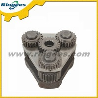 Excavator spare parts, 1st and 2nd swing reduction carrier gearbox assembly for Komatsu PC60-7