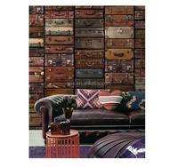 Gris suitcase theme super wallpaper designer home decor for modern house