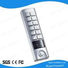 Waterproof IP65 RFID Cards Door Access Control Security Keypad