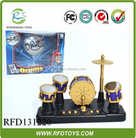 Touch finger jazz drum,music drum with light and music,jazz drum set