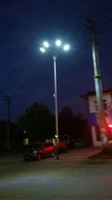 Good quality all in one solar led street/garden/yard light in 20w sunpower