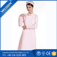 In-Stock Items Guangzhou wholesale poplin work doctor nurse hospital uniform