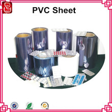 250 micron pharmaceutical grade rigid clear plastic pvc film rolls