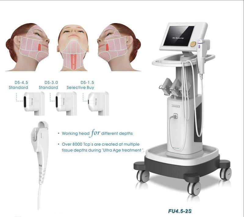 HIFU против морщин ультразвуковой подтяжки кожи машина FU4.5-2S