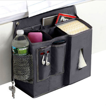 Bed Hanging Sofa Pocket Organizer Bedside Caddy View Bed