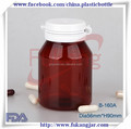 160 ml xarope de bordo garrafa de plástico com final fácil abrir