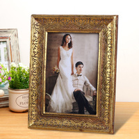 professional photo frame manufacturer bulk 4x6 5x7 OEM customized polyresin picture frames design multiple style and color BY001