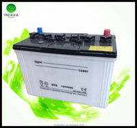 Purchasing price of 12V Dry Charged Car cell battery 70ah