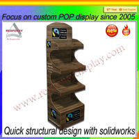 mdf scarf and accessories wood stand display, floor wooden diplay rack