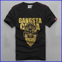 men shirt factory custom design cheap cotton /polyester cheap custom t-shirt