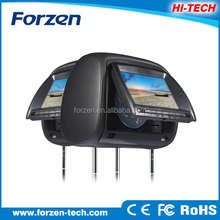 Popular 7 inch digital screen touch screen headrest car radio dvd player for any car