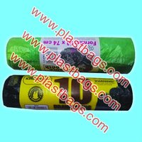 2013 HIGH QUALITY plastic draw tape garbage bags