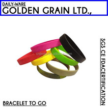 fitness sports promotional gifts silicone bracelet