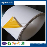 Custom printed static cling aluminum phone sticker