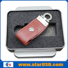 Promotion !!! competitive leather usb flash drive usb disk,high quality leather usb flash disk 1GB for free logo