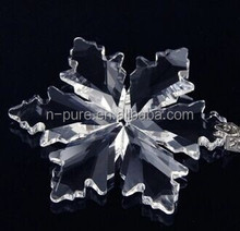 High Quality Exquisite Crystal Snowflake Christmas Ornaments For Hanging