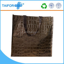recycle bag non woven paper / pp / plastic bag printing any logo