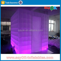 lighting wedding photo booth machine inflatable for sale