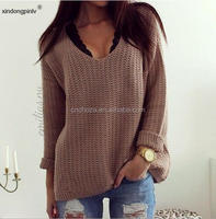 Z51220B ladies long sleeve hot sell latest design sweater woman fashion sweaters