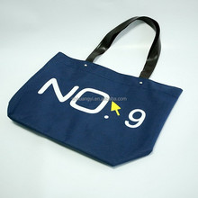 Fancy Durable 12oz Canvas Tote Bag With Zipper