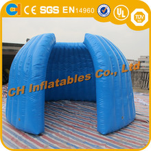 Outdoor inflatable cube tent , cube inflatable camping pod, inflatable tent for event