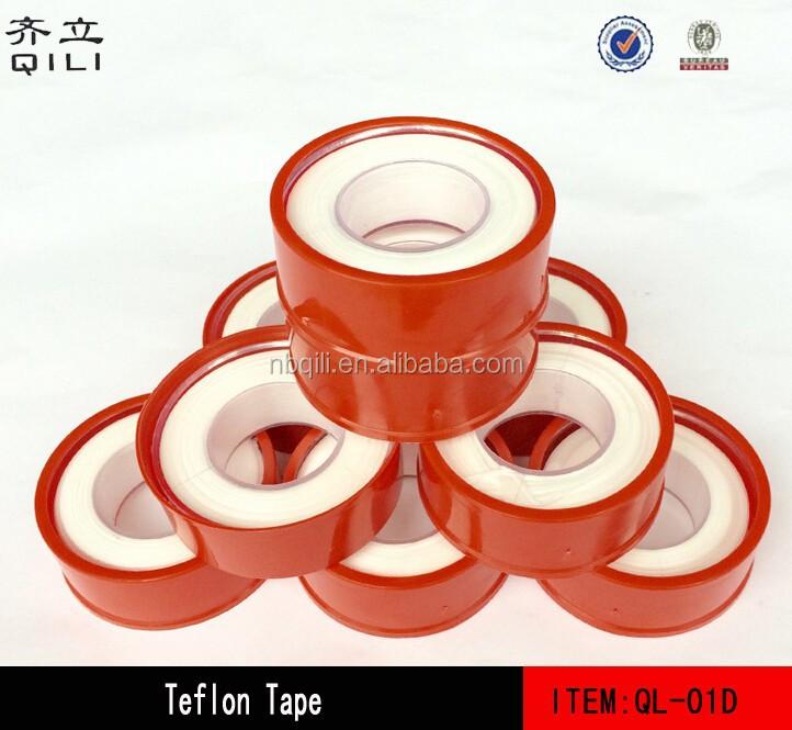 Fita Teflon QL-01D com PTFE, à prova d' água de montagem torneira