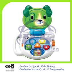 electric learning toys/happy talking lap puppy