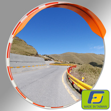 60cm SGR IMPACT RESISTANT STAINLESS STEEL OUTDOOR TRAFFIC CONVEX MIRROR